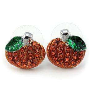 Pumpkin Earrings - Post