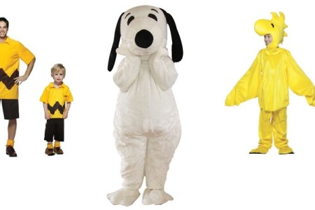 Peanuts Gang Halloween Costumes
