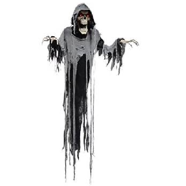 Grim reaper halloween decor halloween haven for Animated halloween decoration