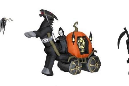 Grim Reaper Halloween Decor