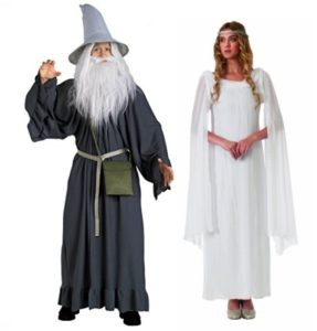 Lord of the Rings Couples Costumes