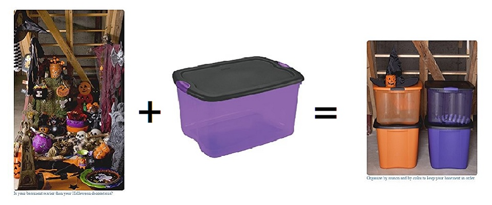 Halloween Storage Boxes