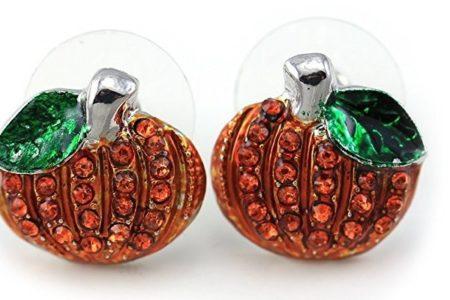 Magical Pumpkin Earrings Spell Perfection