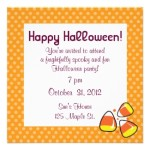 Cute Halloween Party Invitations for Family Fun