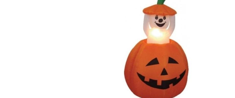 halloween outdoor inflatable pumpkin yard decorations