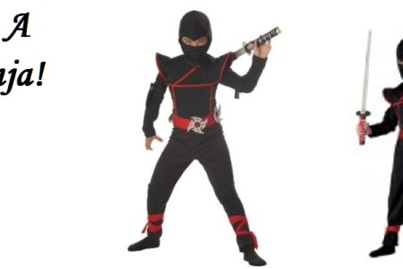 Ninja Halloween Costume for Kids