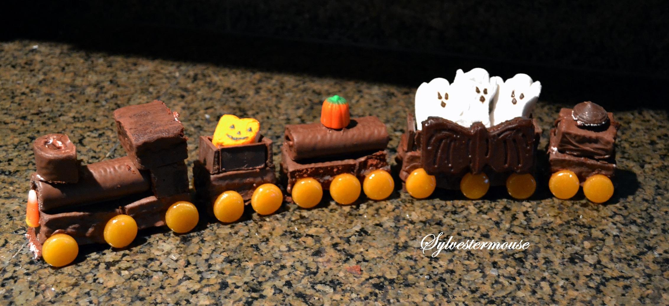 Make a cake train