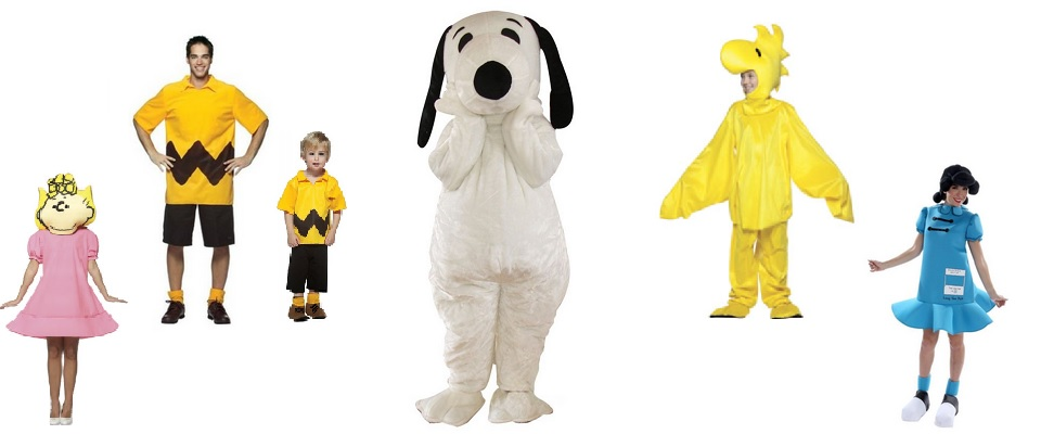 peanuts gang halloween costumes halloween haven