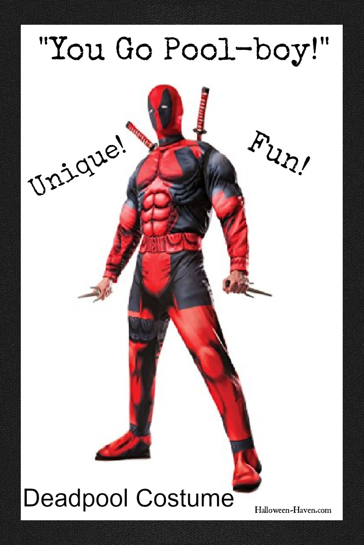 Deadpool costume for guys