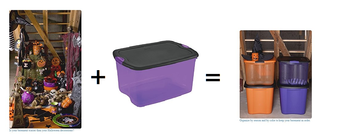 Halloween Storage Box