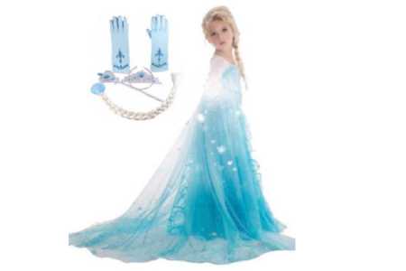 Frozen Elsa Costume for Girls