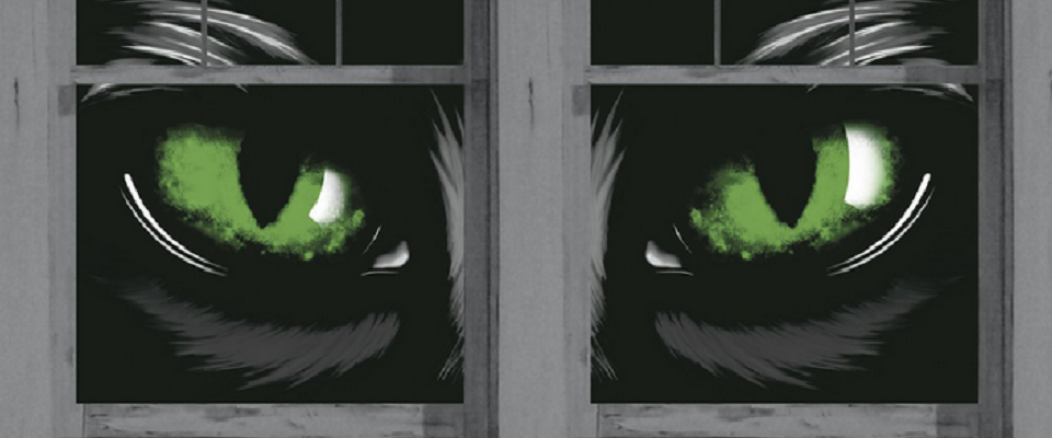 Fabulously Scary Halloween Window Posters