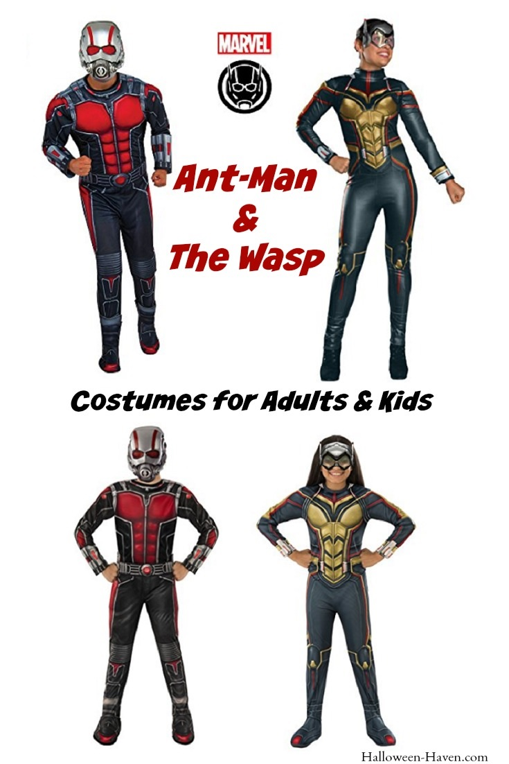 Ant-Man and Wasp Costumes
