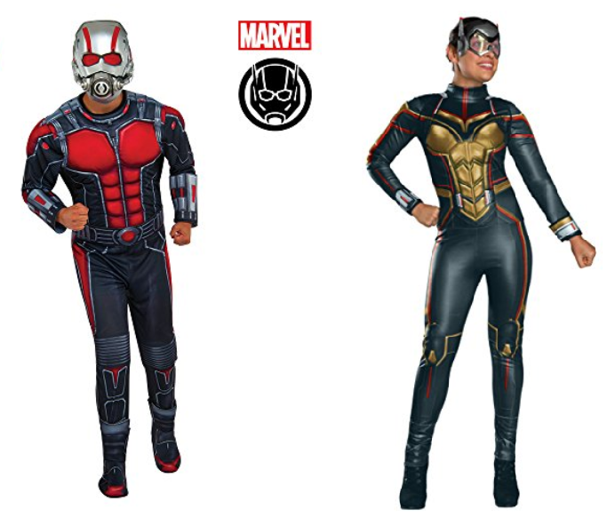 ant-man costume and wasp costume