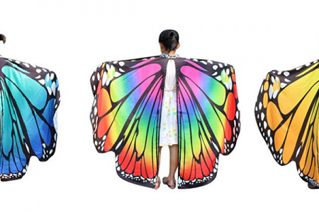 Girls Butterfly Halloween Costume