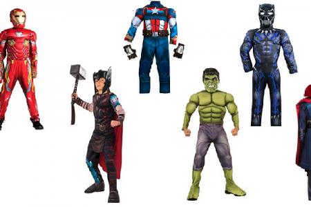 Avengers Halloween Costumes for Boys