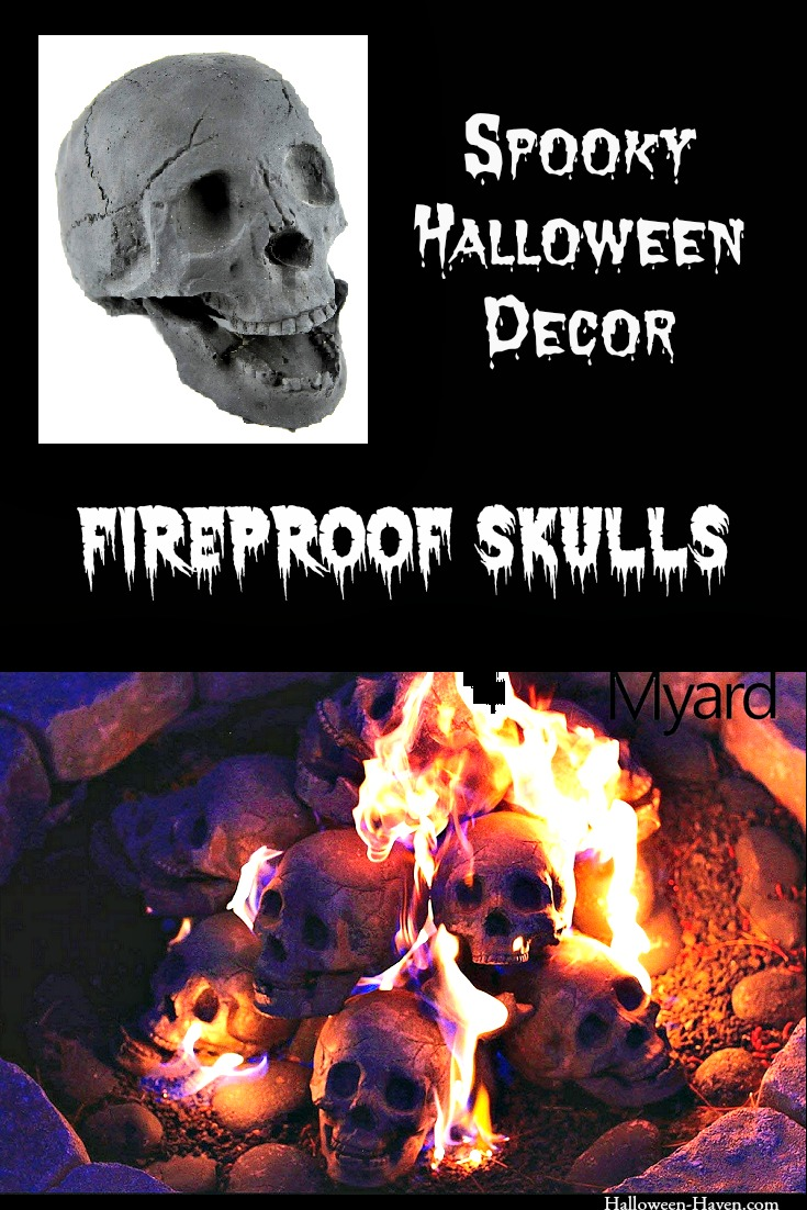 Ceramic Fireproof Skulls for Fire Pits & Fireplaces ...